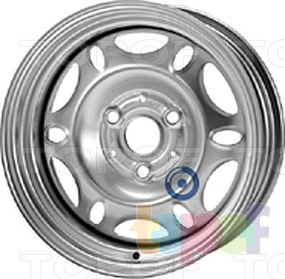 Колесные диски KFZ 7900. Изображение модели #1