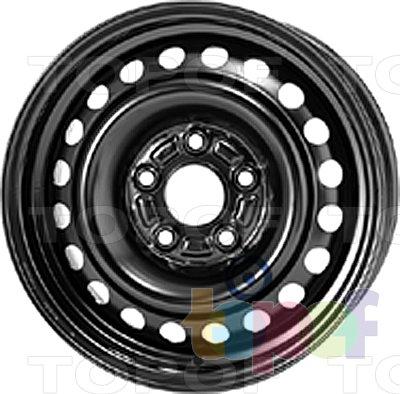 Колесные диски KFZ 7940. Изображение модели #1