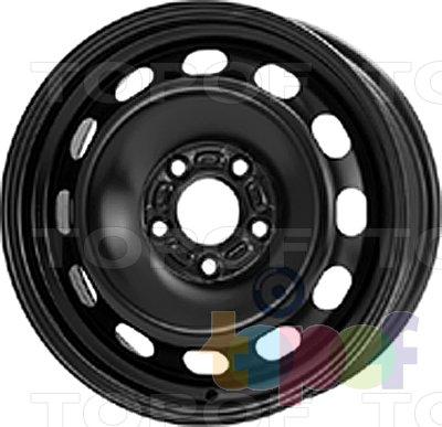 Колесные диски KFZ 7995. Изображение модели #1
