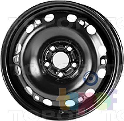 Колесные диски KFZ 8000. Изображение модели #1