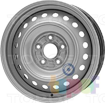 Колесные диски KFZ 8005. Изображение модели #1