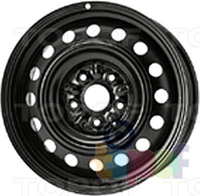 Колесные диски KFZ 8015. Изображение модели #1