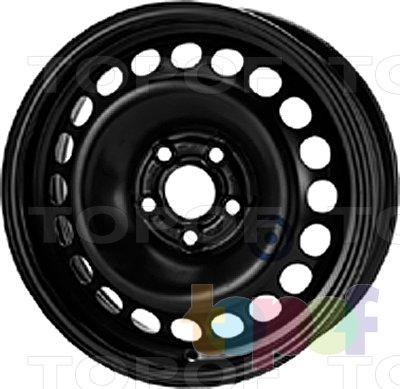Колесные диски KFZ 8025. Изображение модели #1