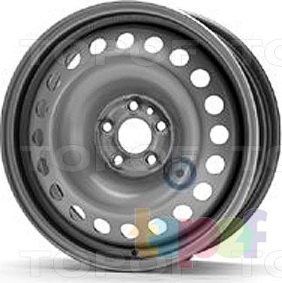 Колесные диски KFZ 8048. Изображение модели #1