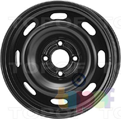 Колесные диски KFZ 8055. Изображение модели #1