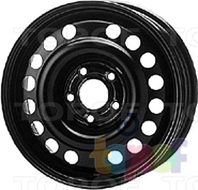 Колесные диски KFZ 8060. Изображение модели #1
