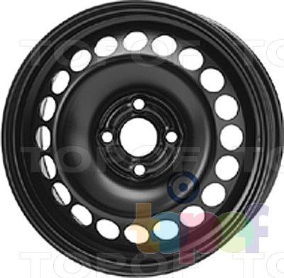 Колесные диски KFZ 8065. Изображение модели #1