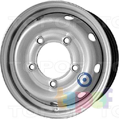Колесные диски KFZ 8120. Изображение модели #1