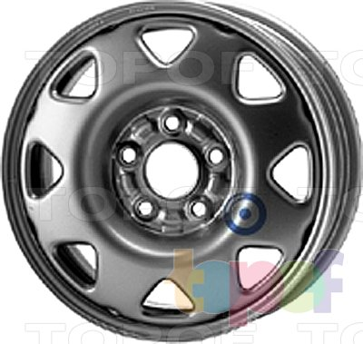 Колесные диски KFZ 8130. Изображение модели #1