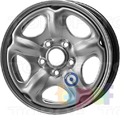 Колесные диски KFZ 8150. Изображение модели #1