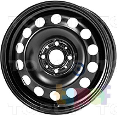 Колесные диски KFZ 8155. Изображение модели #1