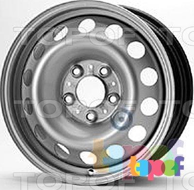 Колесные диски KFZ 8157. Изображение модели #1