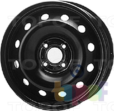 Колесные диски KFZ 8175. Изображение модели #1