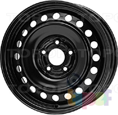 Колесные диски KFZ 8177. Изображение модели #1