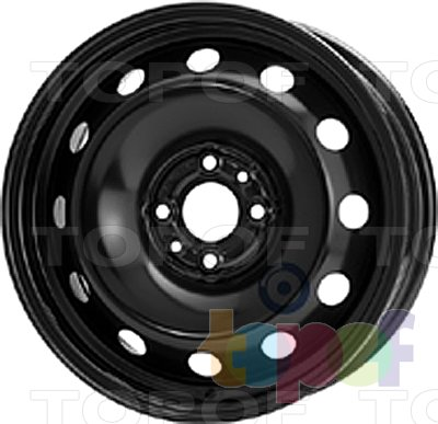 Колесные диски KFZ 8185. Изображение модели #1