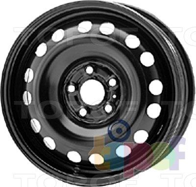 Колесные диски KFZ 8190. Изображение модели #1