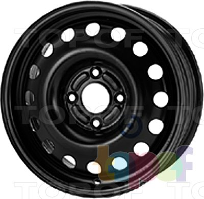 Колесные диски KFZ 8210. Изображение модели #1