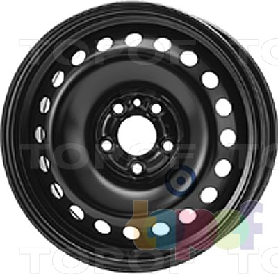 Колесные диски KFZ 8215. Изображение модели #1
