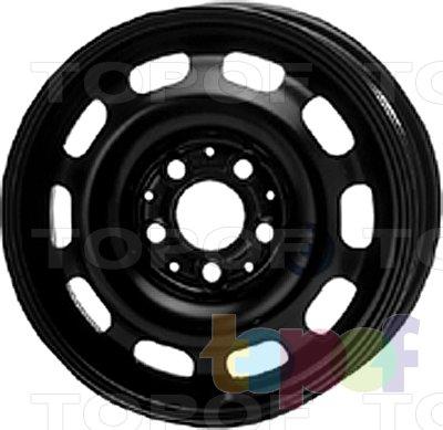 Колесные диски KFZ 8220. Изображение модели #1