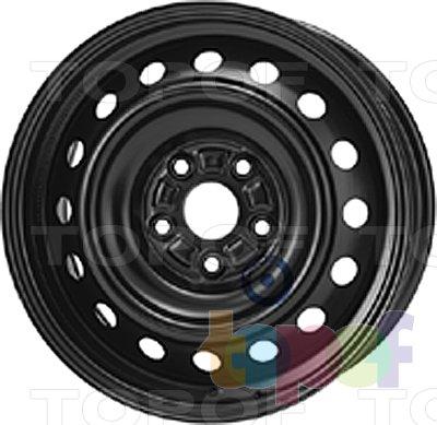 Колесные диски KFZ 8225. Изображение модели #1