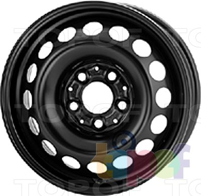 Колесные диски KFZ 8235. Изображение модели #1