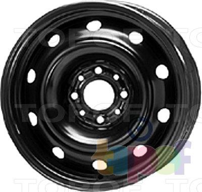 Колесные диски KFZ 8240. Изображение модели #1