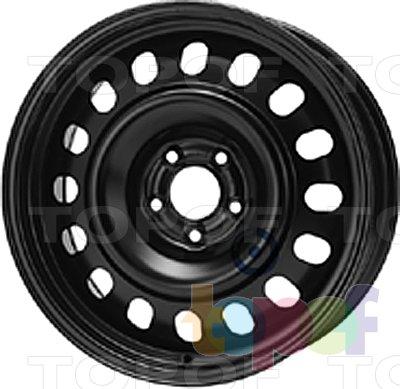 Колесные диски KFZ 8255. Изображение модели #1