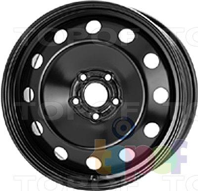 Колесные диски KFZ 8265. Изображение модели #1