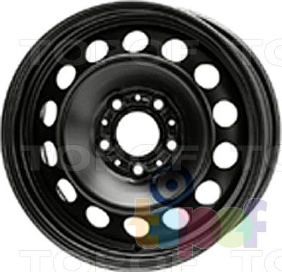 Колесные диски KFZ 8345. Изображение модели #1