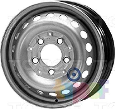 Колесные диски KFZ 8355. Изображение модели #1