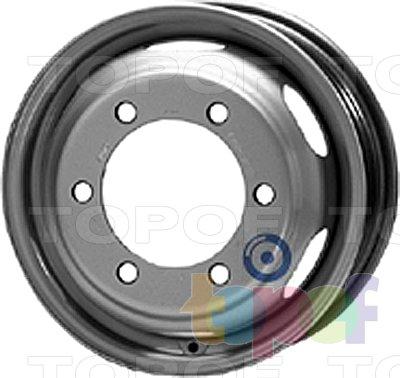 Колесные диски KFZ 8360. Изображение модели #1
