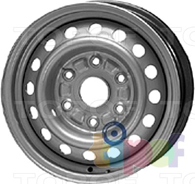Колесные диски KFZ 8370. Изображение модели #1