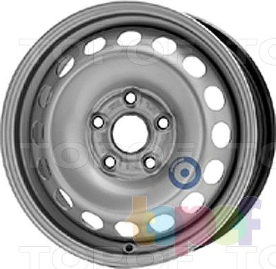 Колесные диски KFZ 8385. Изображение модели #1