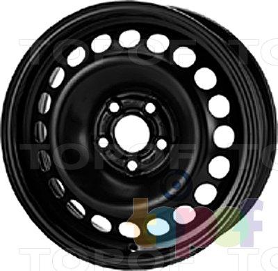 Колесные диски KFZ 8405. Изображение модели #1