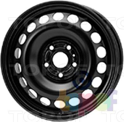 Колесные диски KFZ 8425. Изображение модели #1