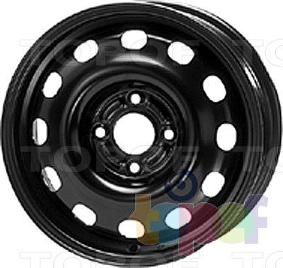 Колесные диски KFZ 8440. Изображение модели #1
