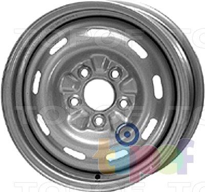 Колесные диски KFZ 8460. Изображение модели #1