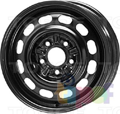 Колесные диски KFZ 8490. Изображение модели #1