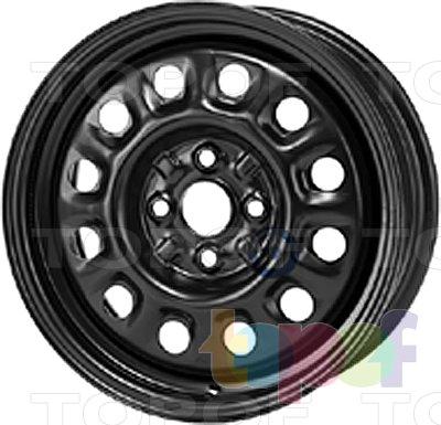 Колесные диски KFZ 8495. Изображение модели #1