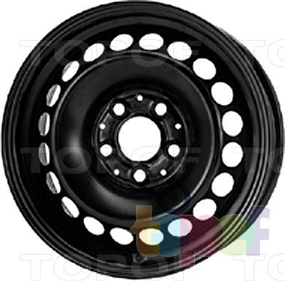 Колесные диски KFZ 8515. Изображение модели #1