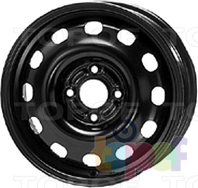 Колесные диски KFZ 8520. Изображение модели #1