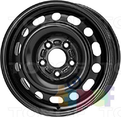 Колесные диски KFZ 8535. Изображение модели #1