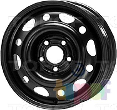 Колесные диски KFZ 8590. Изображение модели #1