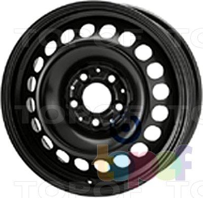 Колесные диски KFZ 8595. Изображение модели #1