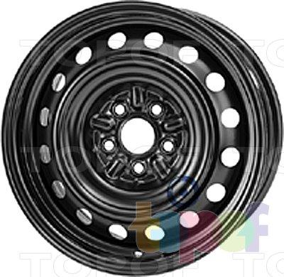 Колесные диски KFZ 8615. Изображение модели #1