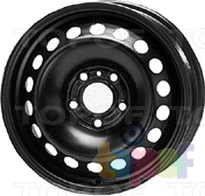 Колесные диски KFZ 8625. Изображение модели #1