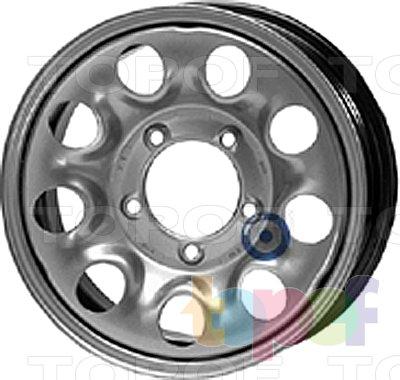 Колесные диски KFZ 8630. Изображение модели #1