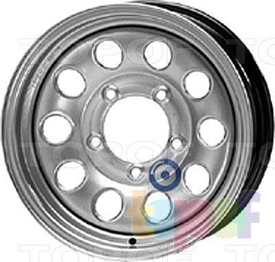 Колесные диски KFZ 8660. Изображение модели #1