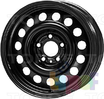 Колесные диски KFZ 8680. Изображение модели #1
