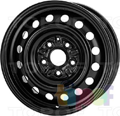 Колесные диски KFZ 8705. Изображение модели #1